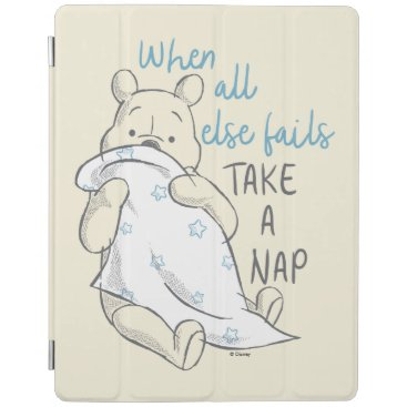 Pooh | Take a Nap Quote iPad Smart Cover