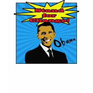 Pop Art Obama T-Shirt shirt