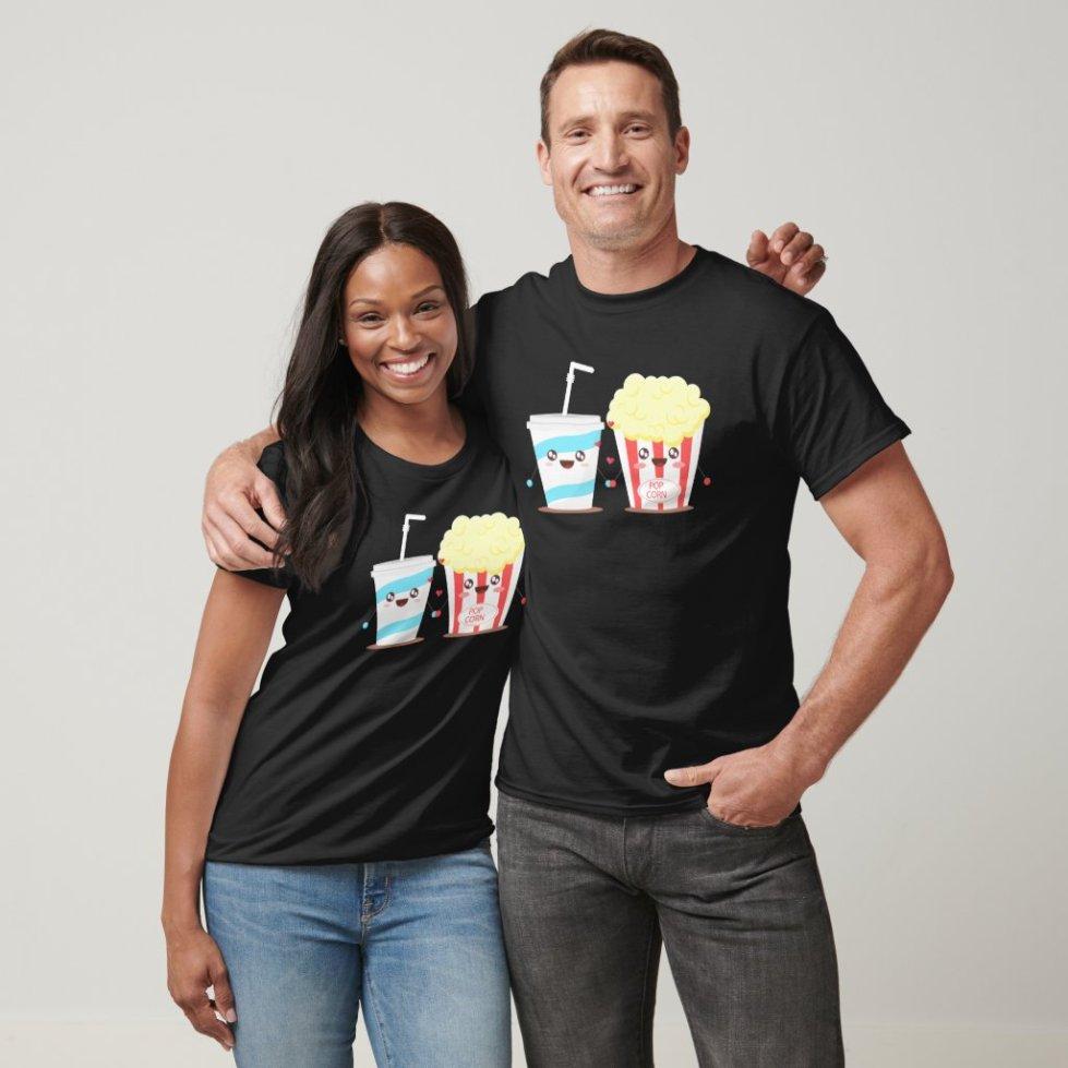 Popcorn Best Friend Shirts