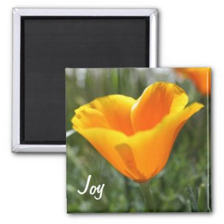 Poppy Joy Fridge Magnet