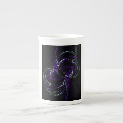 Possibilities - Cosmic Purple & Amethyst Bone China Mug