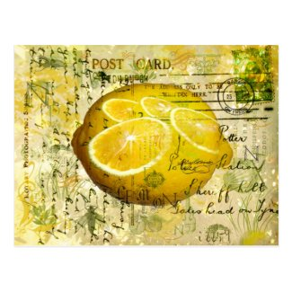 Postcard Lemons Post Card