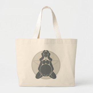 Pregnant Goddess bag