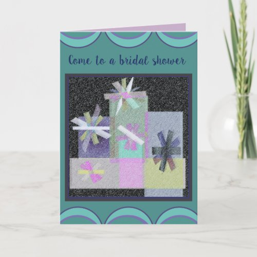Pretty Party Packages Invitation