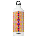 Pretty yellow red ribbons SIGG traveler 1.0L water bottle