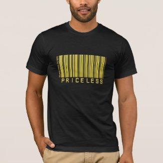 Priceless Barcode (Gold) Shirt shirt
