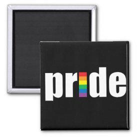 Pride Black Magnet