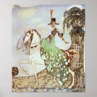 Princess Minon-Minette by Kay Nielsen Print print