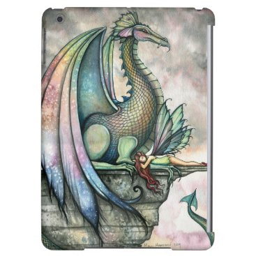 Protector Dragon Fairy Fantasy Art iPad Air Cover
