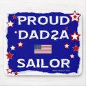 Proud DAD2A Sailor - Mousepad mousepad