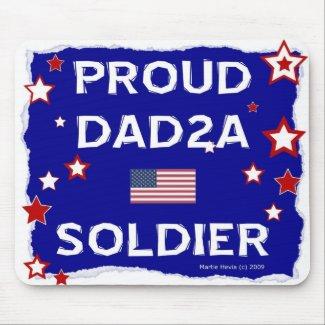 Proud DAD2A Soldier - Mousepad mousepad