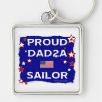 Proud Dad 2A Sailor Keychains
