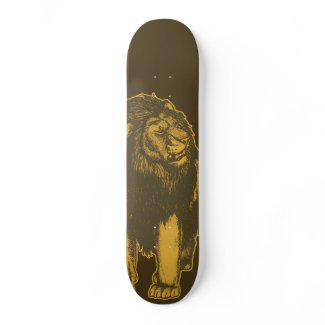 Proud Lion Skateboard skateboard