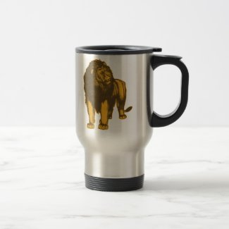 Proud Lion Travel Mug mug