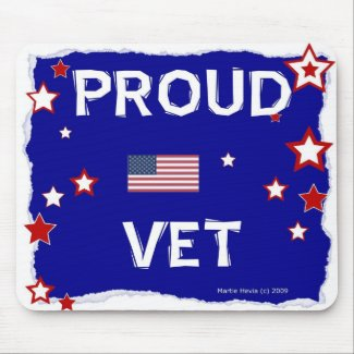 Proud Vet - In Honor - Mousepad
