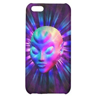 Psychedelic Alien Meditation iPhone 5C Case