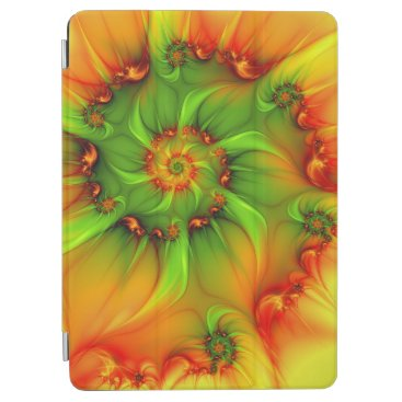 Psychedelic Colorful Modern Abstract Fractal Art iPad Air Cover