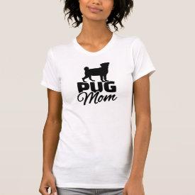 Pug Mom Tshirt