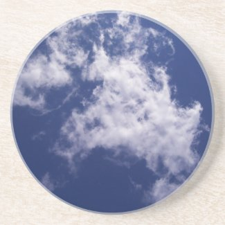 Pulled Cotton Clouds Coaster coaster