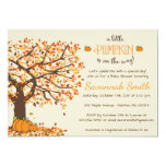 Pumpkin Baby Shower Invitations - Little Pumpkin