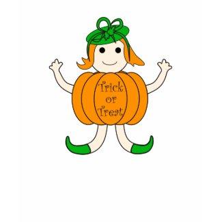 Pumpkin girl - Tshirt shirt