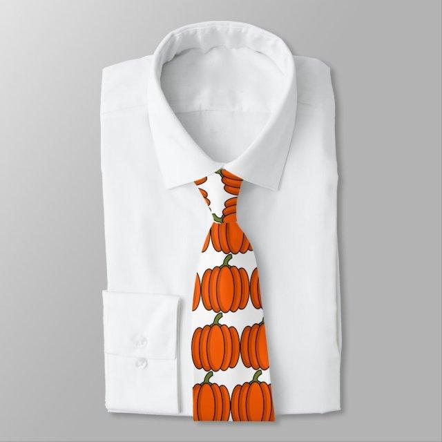 Pumpkin Neck Tie
