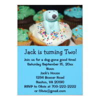 Puppy Dog Birthday Party Invites