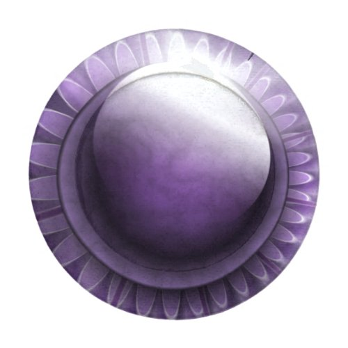 Purple Gems Pack Of Small Button Covers