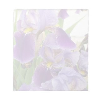 Purple Iris Notepad