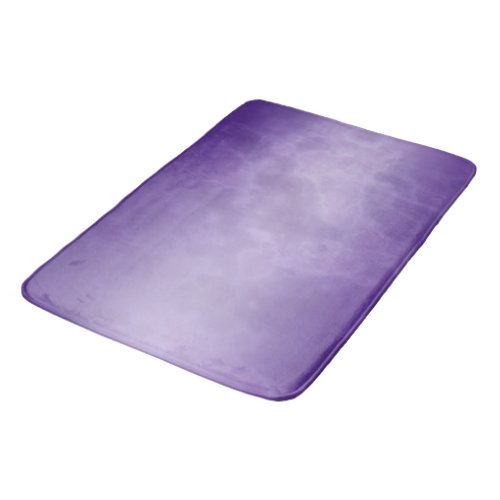 Purple Marble Bathroom Mat