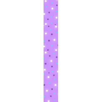 Purple stars tie