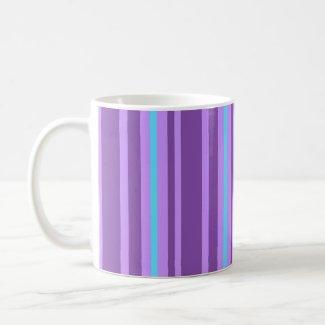 Purple stripes - Mug mug