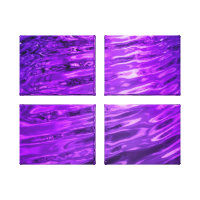 Purple Water wrappedcanvas