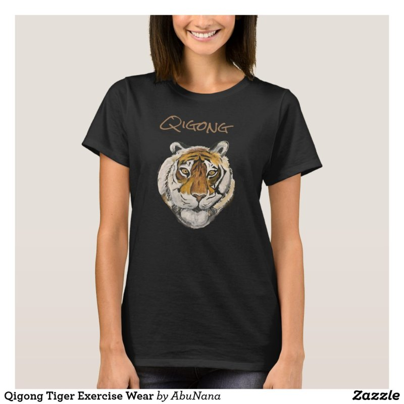 Qigong Tiger Exercise Wear T-Shirt