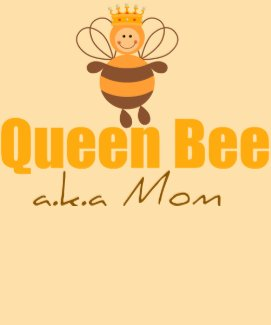 Queen Bee Funny Mother's Day Tee Shirt