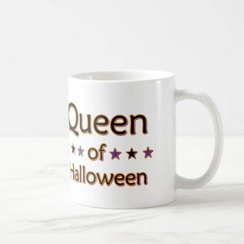 Queen of Halloween Coffee Mug