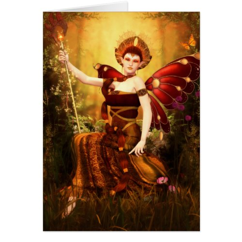 Queen Titania Greeting/Note Card
