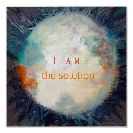 Quote, I am the solution, Beautiful sphere