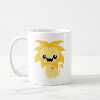 Raah! Cute Lion mug