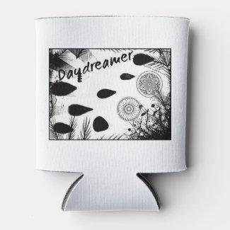Rachel Doodle Art - Daydreamer Can Cooler