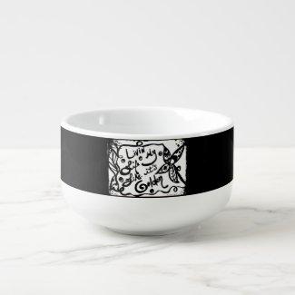 Rachel Doodle Art - Livin My Life Like It's Golden Soup Mug