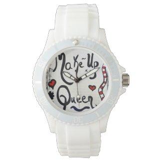 Rachel Doodle Art - Make-Up Queen Wristwatch