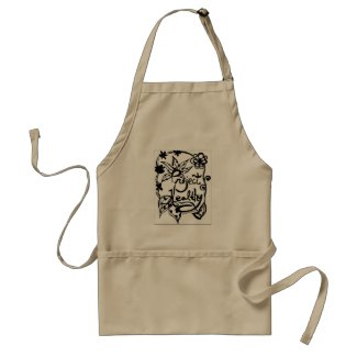 Rachel Doodle Art - Project Healthy Adult Apron