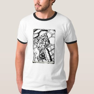 Rachel Doodle Art - Relax Tshirts