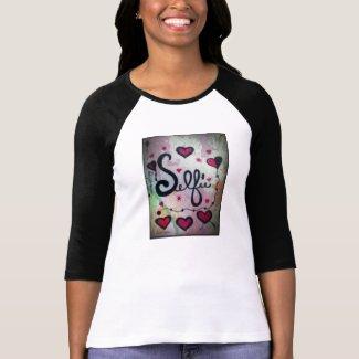 Rachel Doodle Art - Selfie Tshirt
