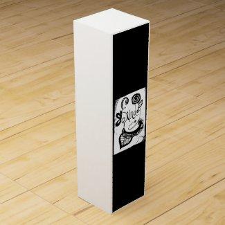 Rachel Doodle Art - Sunday Wine Gift Box