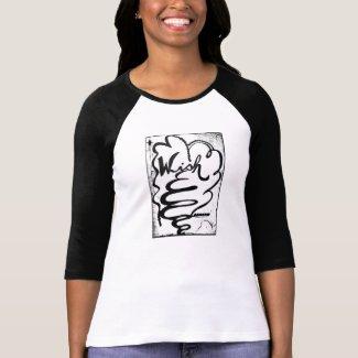 Rachel Doodle Art - Wish Tee Shirt