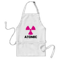 Radioactive Atomic Apron on Zazzle