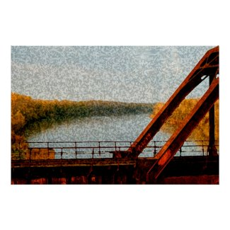 Railroad Bridge print