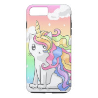 Rainbow Caticorn iPhone 7 Case